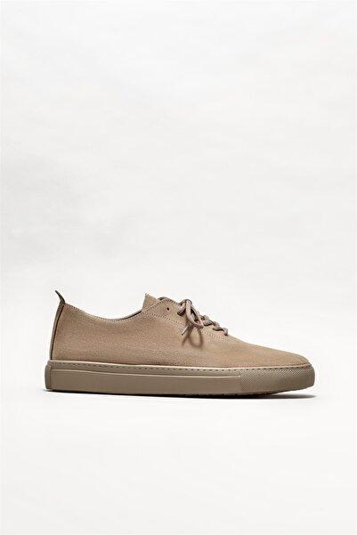 Elle Shoes Erkek Vizon Deri Günlük Ayakkabı