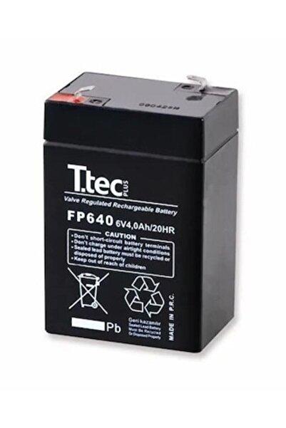 TTEC PLUS Ttec 6 Volt 4 Amper Kuru Akü 6v 4a 2020 Üretim