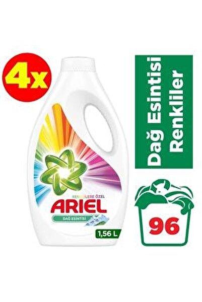 Parlak Renkler Sıvı Çamaşır Deterjanı 24 Yıkama x 4 Adet 96 Yıkama