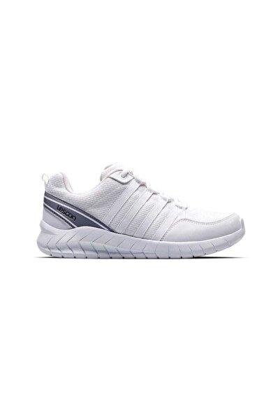Lescon Unisex Beyaz Bağcıklı Flex Legend Sneaker Ayakkabı
