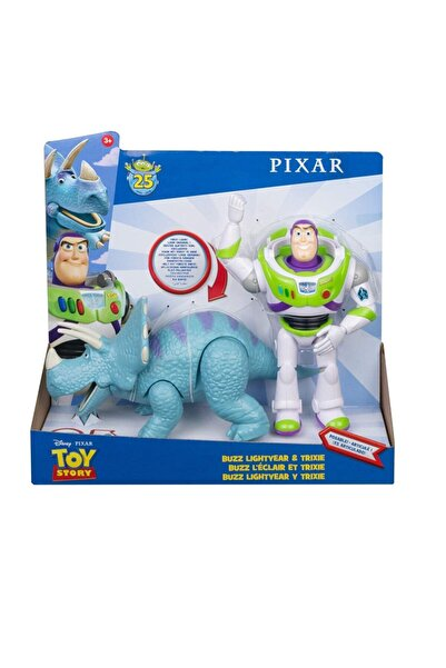 Toy Story 4 Buzz Lightyear Ve Trixie Ikili Figür Oyuncak Hikayesi Karakter Çocuk Oyuncak