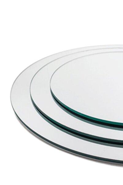 UĞUR MOBİLYA Makromeler Için Yuvarlak Kesim Kaliteli Üçlü Ayna 20cm, 25 Cm Ve 30 Cm
