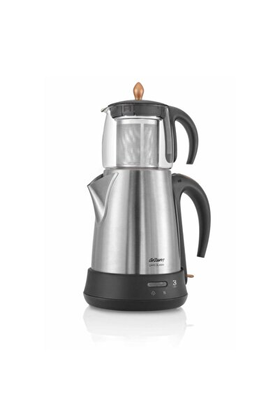 Arzum Ar3003 Çaycı Klasik 1650 W Cam Demlikli Çay Makinesi