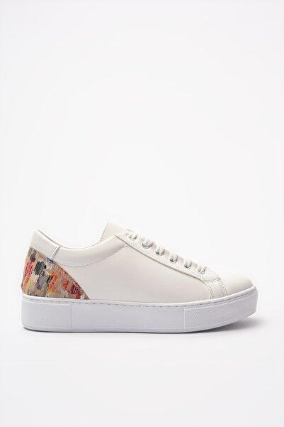 Yaya  by Hotiç Beyaz Kadın Sneaker 01AYY204940A903