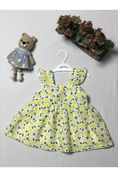 Tiny World Melek Kanatlı Limonlu Elbise