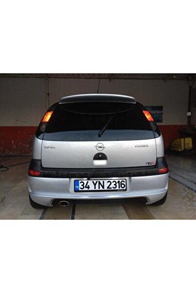 NamTuning Opel Corsa C Spoyler Spoiler Boyasız Fiber