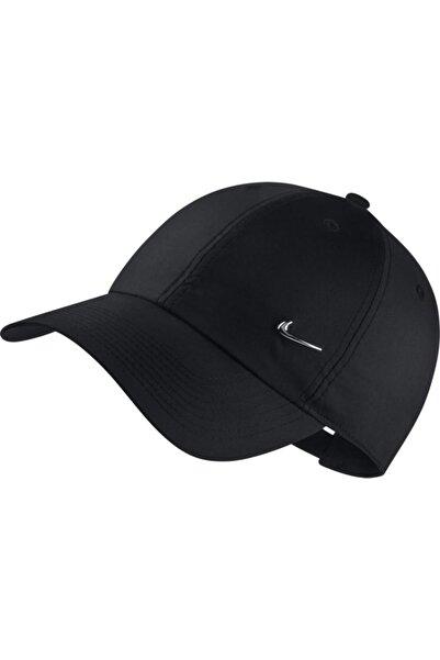 Nike Unisex Siyah Metal Swoosh Ayarlanabilir Şapka 943092-010