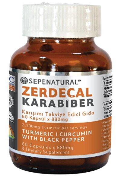 Sepe Natural Zerdeçal Karabiber 60 Kapsül 880 mg Kurkumin Curcumin