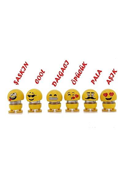 Hey Merry Zıp Zıp Kafalar Sevimli Kafa Sallayan Emojiler Çılgın Kafalar