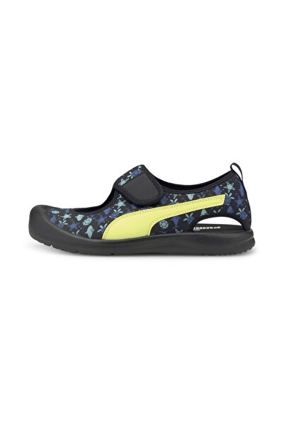 Puma Aquacat Ps Black-soft Fluo Yel