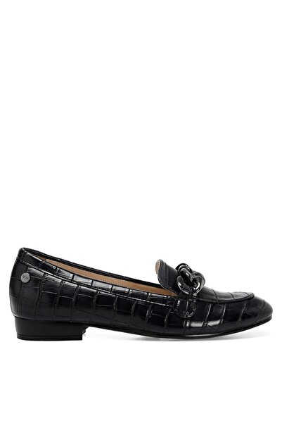 Nine West Croma Siyah Kadın Loafer Ayakkabı