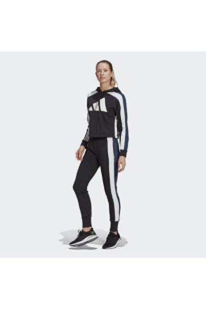 adidas Kadın Siyah Spor Eşofman Takımı W Ts Bıg Logo