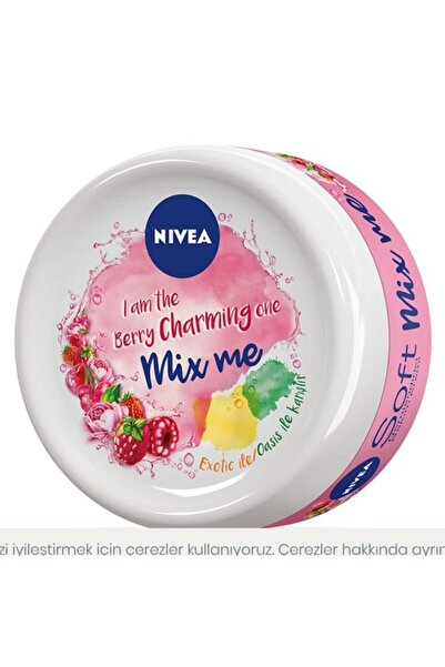 Nivea Soft Mix Me Berry Charmıng Nemlendirici Bakım Kremi 100ml