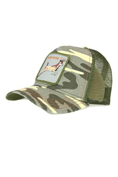 Goorin Bros Unisex Yeşil Buck Fever Goorın Bros Anımal Farm Şapka