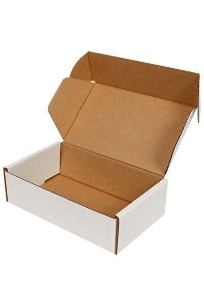 Kolicim Beyaz E-Ticaret Kargo Kutusu [10 Adet] 16x8x3cm