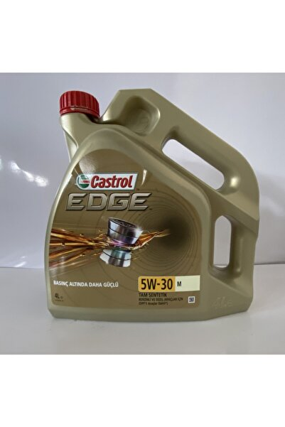 CASTROL Edge 5w30 M 4 Litre 2021 Tarihli 'bmw Long Life-004 Onaylı