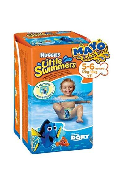 Huggies Mayo Bebek Bezi 5-6 Beden Little Swimmers 11li