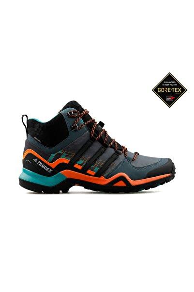 adidas Gri Erkek Trekking Bot Ve Ayakkabısı Fv6840 Terrex Swift R2 Mid Gtx