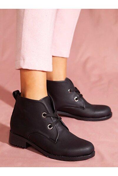 ayakkabıhavuzu Kadın Siyah Bot