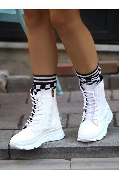 ayakkabıhavuzu Kadın Beyaz Bot