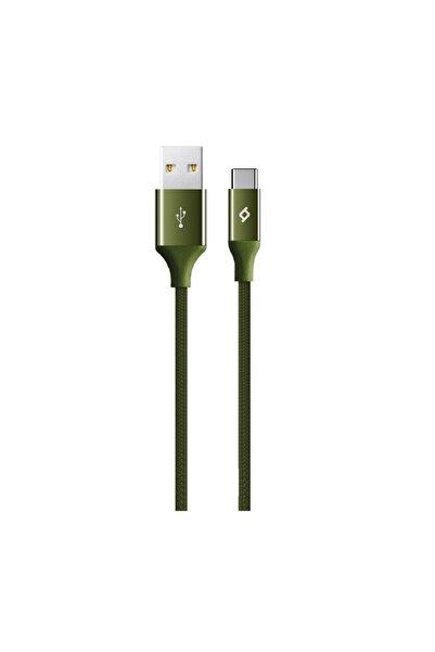 Ttec AlumiCable iPhone Şarj Kablosu Haki Yeşili 2DK16HY