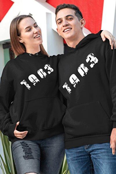 Tonny Mood Sevgili Kombini Bjk 01 Siyah Kapşonlu Sweatshirt - Tek Ürün Fiyatıdır.