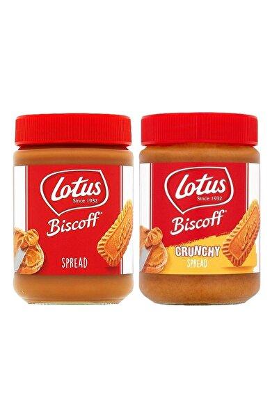 Lotus Bıscoff Spread Orıgınal 400 Gr + Bıscoff Spread Crunchy 380 Gr (ikisi Bir Arada)