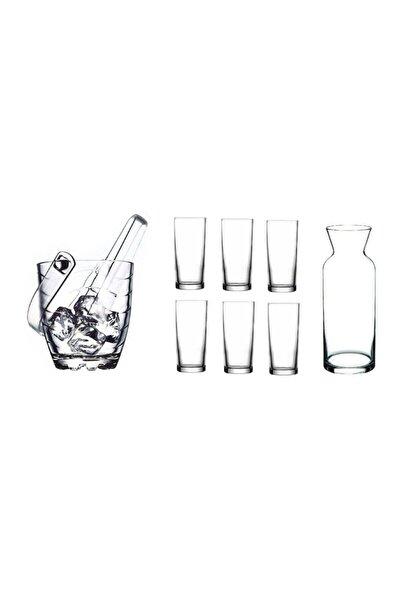 Paşabahçe Rakı Bardak Ve 9 Prç. Rakı Bardağı Ve Buz Kovası Seti
