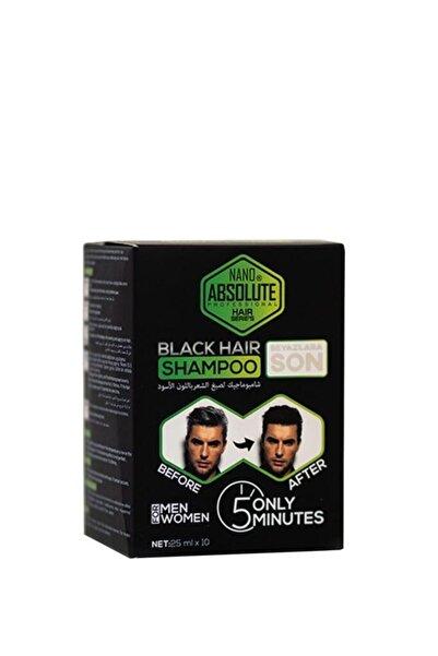 Nano Absolute Siyah Şampuan 10 X 25 ml