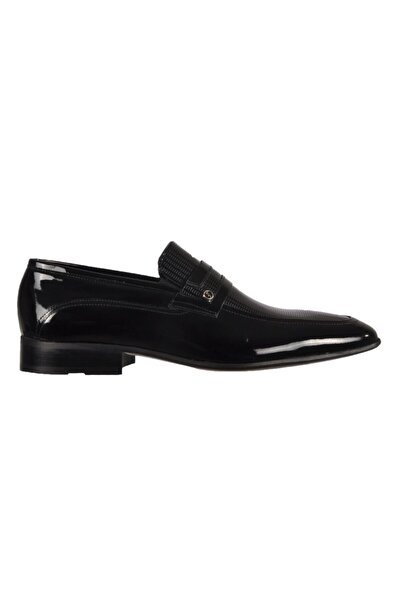Fosco Erkek Siyah Klasik Ayakkabı