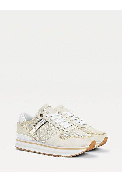 Tommy Hilfiger Th Metalik Flatform Sneaker