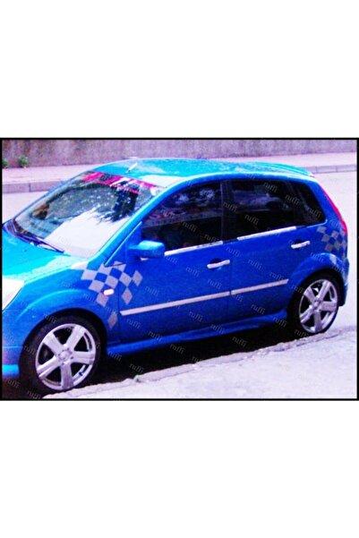 EBAL OTO AKSESUAR Ford Fiesta Krom Cam Çıtası 4 Prç. 2002-2008 P. Çelik