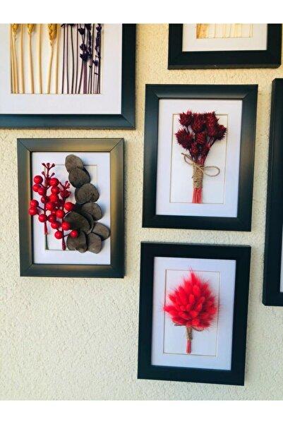EGO TASARIM 15 X 20 Kuru Çiçek Çerçeve & Tablo 3'lü