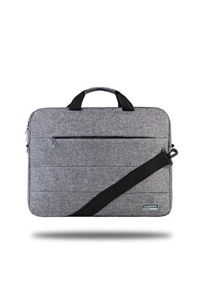 Classone Romeo Serisi Tl2004 15.6 Inch Uyumlu Laptop, Notebook El Çantası -gri