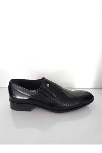 Pierre Cardin Erkek Siyah Rugan Ayakkabı 00pc13