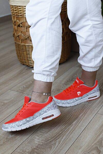 Pierre Cardin Kadın Turuncu Yürüyüş Spor Ayakkabısı