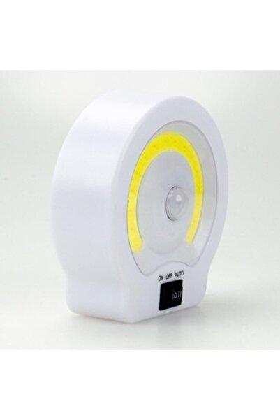Vk&Vk Cob Ledli Pilli Sensörlü Gece Lambası Dolap Içi Işıkları Tekli Dolap İçi Aydınlatma