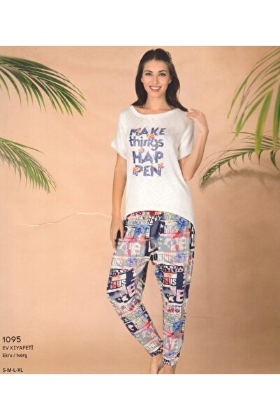 Pierre Cardin 2 Li Ev Kıyafeti Pijama 1095