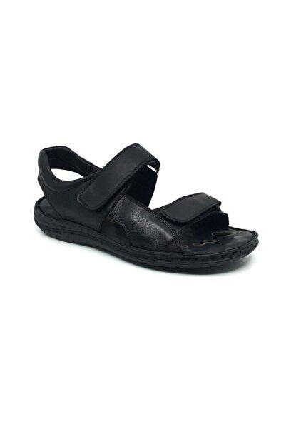Taşpınar Erkek Siyah Sandalet