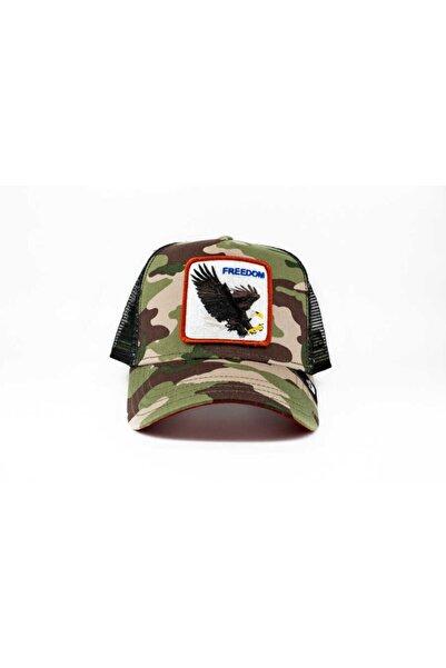 Goorin Bros Unisex Yeşil Kamuflaj Standart Şapka