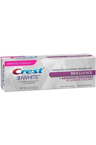 CREST 3d White Brilliance Advanced Stain Protection Diş Macunu (116 gr)