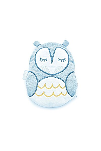 Babyjem Kiraz Çekirdekli Hayvan Figürlü Yastık Mavi