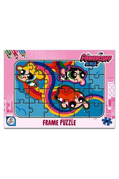 LAÇO KİDS Powerpuff Girls 24 Parça Frame Puzzle
