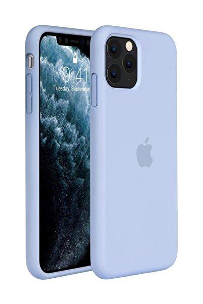 cepsesuar Lila Iphone 11 Pro Max Lansman Altı Kapalı İç Kısım Kadife Uyumlu Kılıf