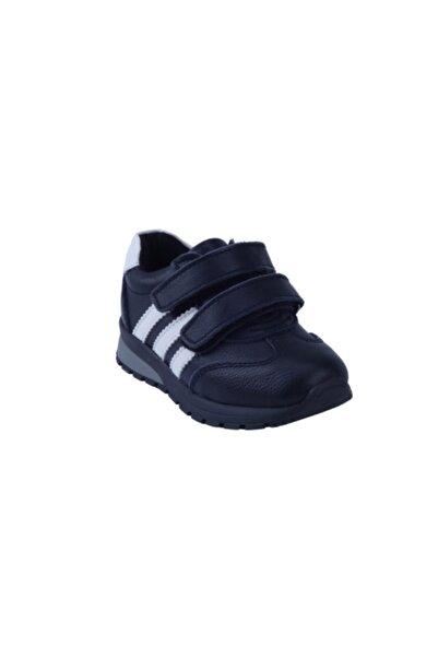 Toddler Erkek Çocuk Lacivert Ortopedik Hakiki Deri Sneaker