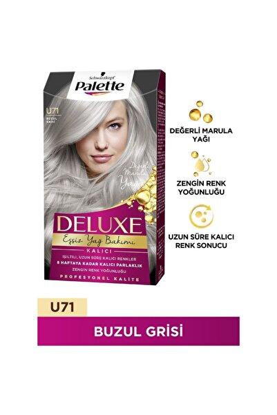 Palette Deluxe Saç Boyası U71 Buzul Grisi