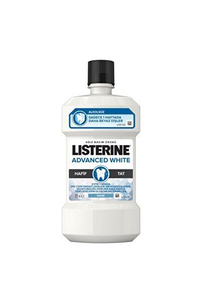 Listerine Advanced White Hafif Tat 500 Ml