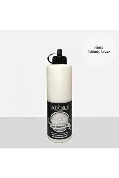 Eskimiş Beyaz Hybrid Multisurface Akrilik Boya 500 ml