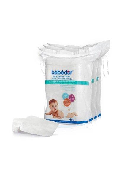 Bebedor 631 60'lı 3 Adet Bebek Temizleme Pamuğu