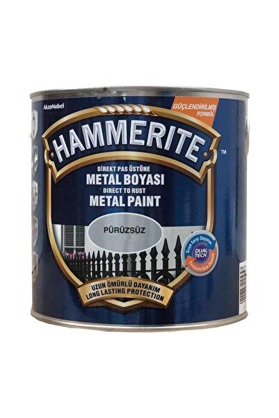 Marshall Hammerite Pürüzsüz Gümüş 2.5 Litre
